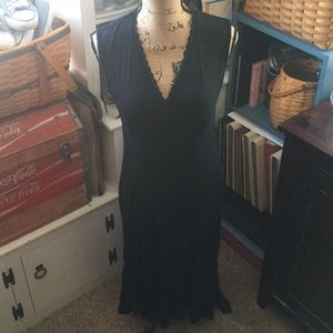 Liz Claiborne black fitted dress